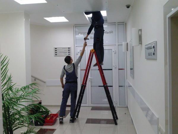 Обслуживание вентиляционной установки