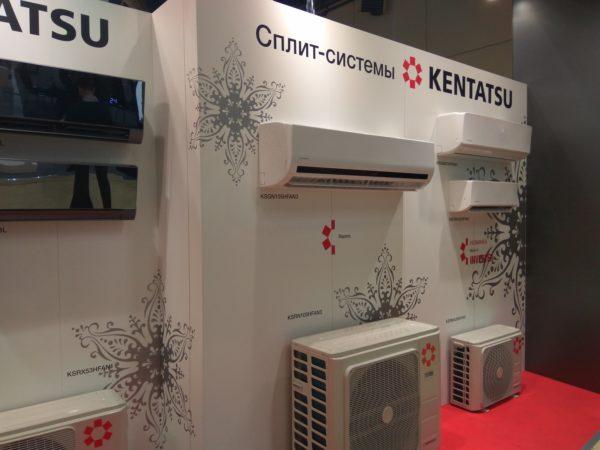 Стенд кондиционерами KENTATSU
