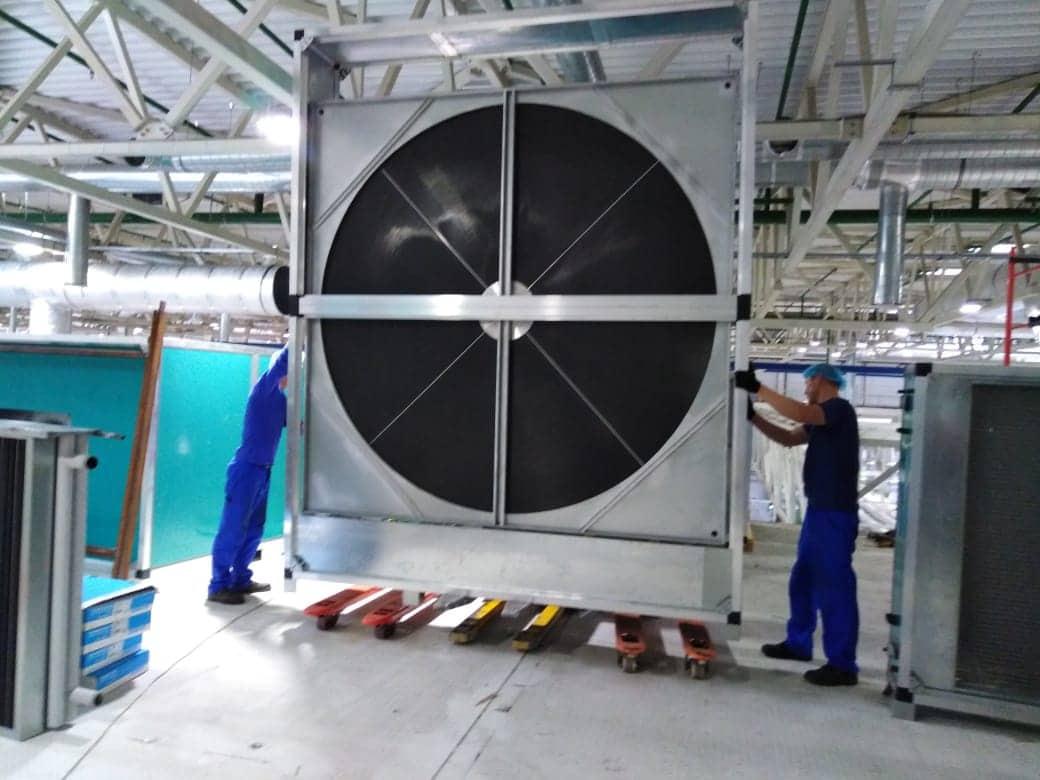 Промышленный рекуператор