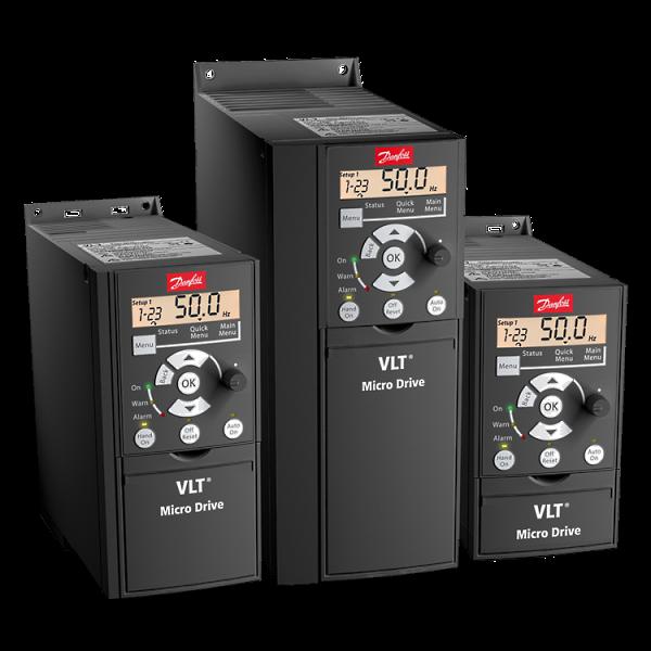 Частотные преобразователи Danfoss электронного типа VLT Micro Drive FC 51