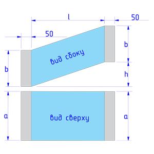 Утка со смещением в 1-ой плоскости